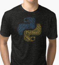 Python Programmer & Developer T-shirt & Hoodie NEW Tri-blend T-Shirt