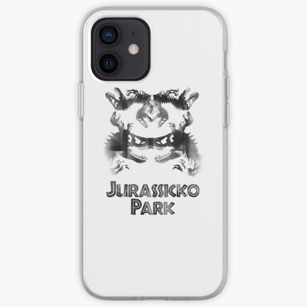 JurasSicko Park Skull iPhone Soft Case