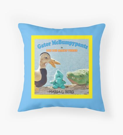 Dee Dee Makes Three Throw Pillow