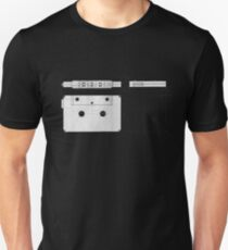 Cassette Tape Projection Unisex T-Shirt