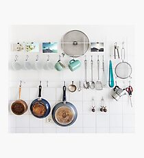 Kitchen Utensils Photographic Print