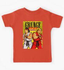 Grunge Street Fighters Kids Tee