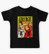 Grunge Street Fighters Kids Tee