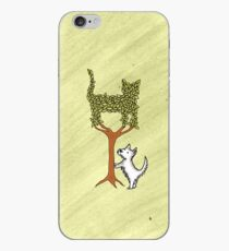 Barking up the wrong tree iPhone Case