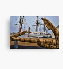 Cork Anchor Canvas Print