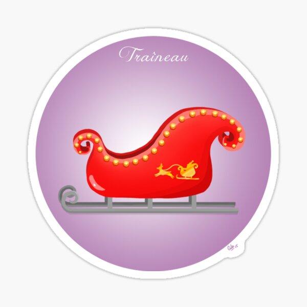 Santa's sleigh Sticker
