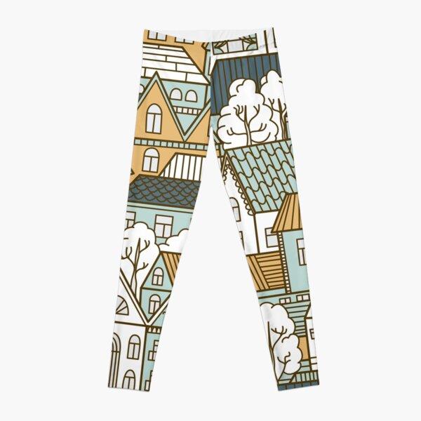 Colorful Houses Leggings