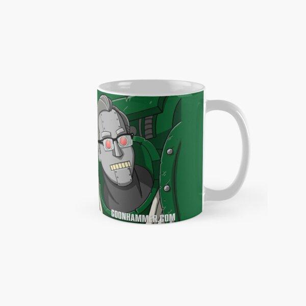 Gregbot (White Text, Transparent) Classic Mug