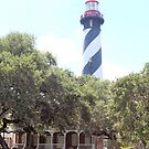 Lighthouse at St Augustine by Bob Hardy