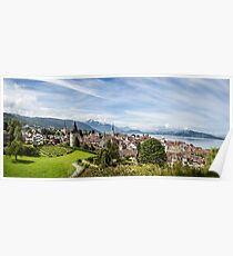 City of Zug (Central Switzerland) Poster