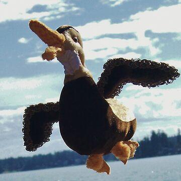 Dee Dee the duck by marialberg