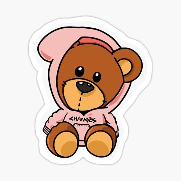 Changements d'ours en peluche Sticker