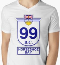 BC 99 - Horseshoe Bay Mens V-Neck T-Shirt