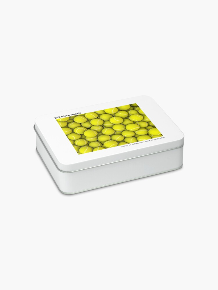 Alternate view of Tennis balls Jigsaw Puzzle