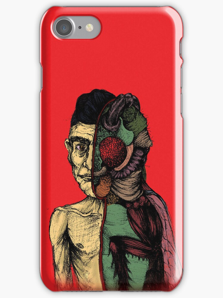 The Metamorphosis iPhone Cover by bbbboom
