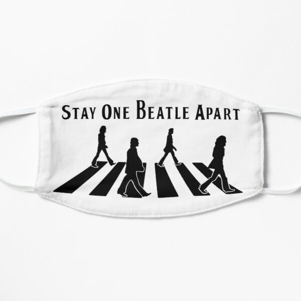 Stay One Beatle Apart Mask