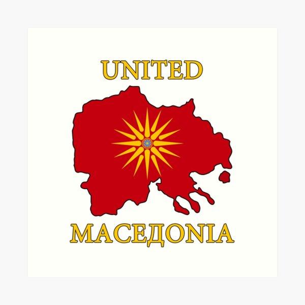 Makedonia Art Prints Redbubble