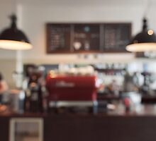 Coffee Shop Bokeh by visualspectrum