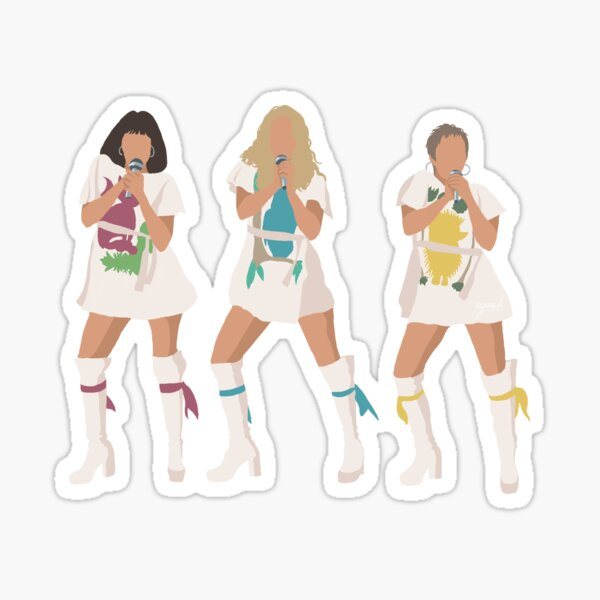 Mamma Mia 2 - Donna and The Dynamos Sticker