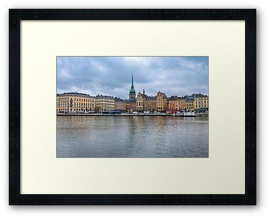 Gloomy Sky Over Stockholm by pixog