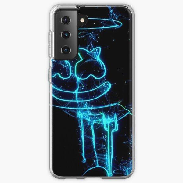 Marshmello Beleuchtung Samsung Galaxy Flexible Hülle