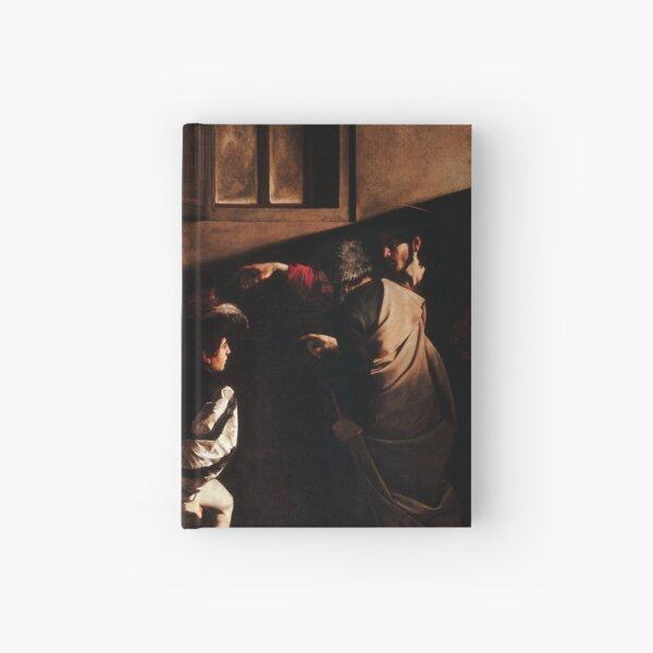 Caravaggio - The Calling of Saint Matthew Hardcover Journal