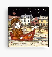 Helen's Starlit Haven Canvas Print