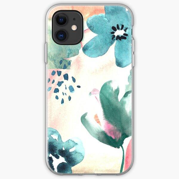 Pastel Flowers iPhone Soft Case