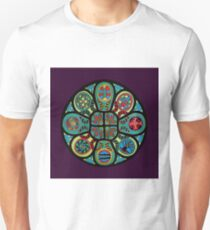 Rose Window of Healing T-Shirt