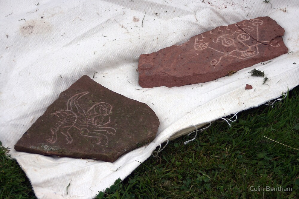 stone carving by Colin Bentham