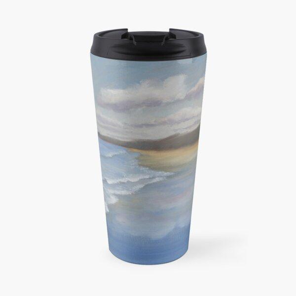 Seascape oil painting design Travel Mug