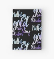NOTHING GOLD Hardcover Journal