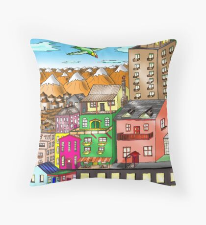 Habitat for Humanity Throw Pillow