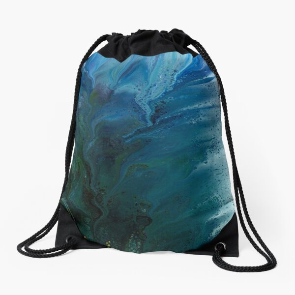 From The Depths (tentacle monster) Drawstring Bag