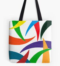 COLORED CURVES Tote Bag