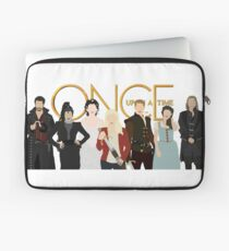 Once Upon A Time Main Cast Laptop Sleeve