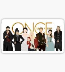 Once Upon A Time Main Cast Sticker