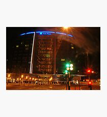 Park plaza Hotel in colors  Photographic Print