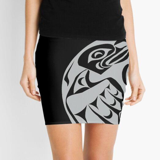 Coast Salish Eagle Mini Skirt