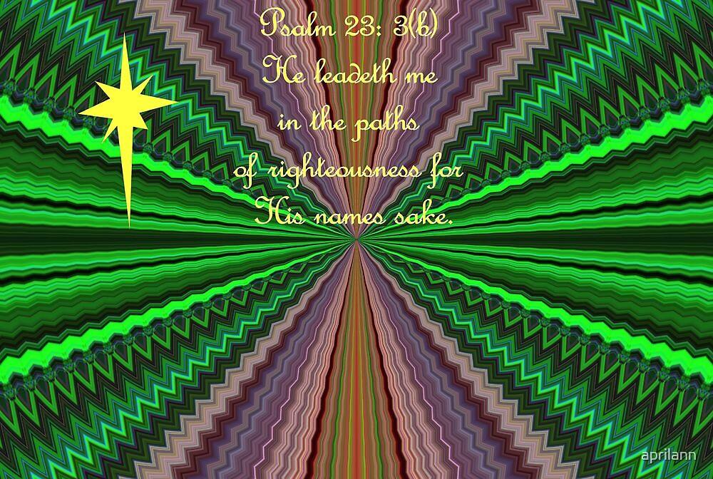 He Leadeth Me by aprilann