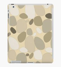 Pebble pattern in beige and sandy tones (ipad case) iPad Case/Skin
