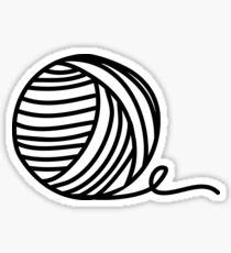 Yarn Addict Sticker