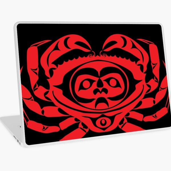 Red Rock Crab Laptop Skin