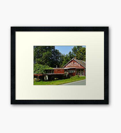 Cider Mill Barn Framed Print