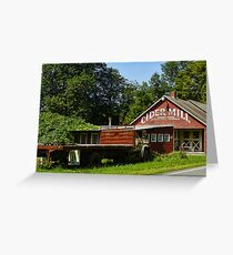 Cider Mill Barn Greeting Card