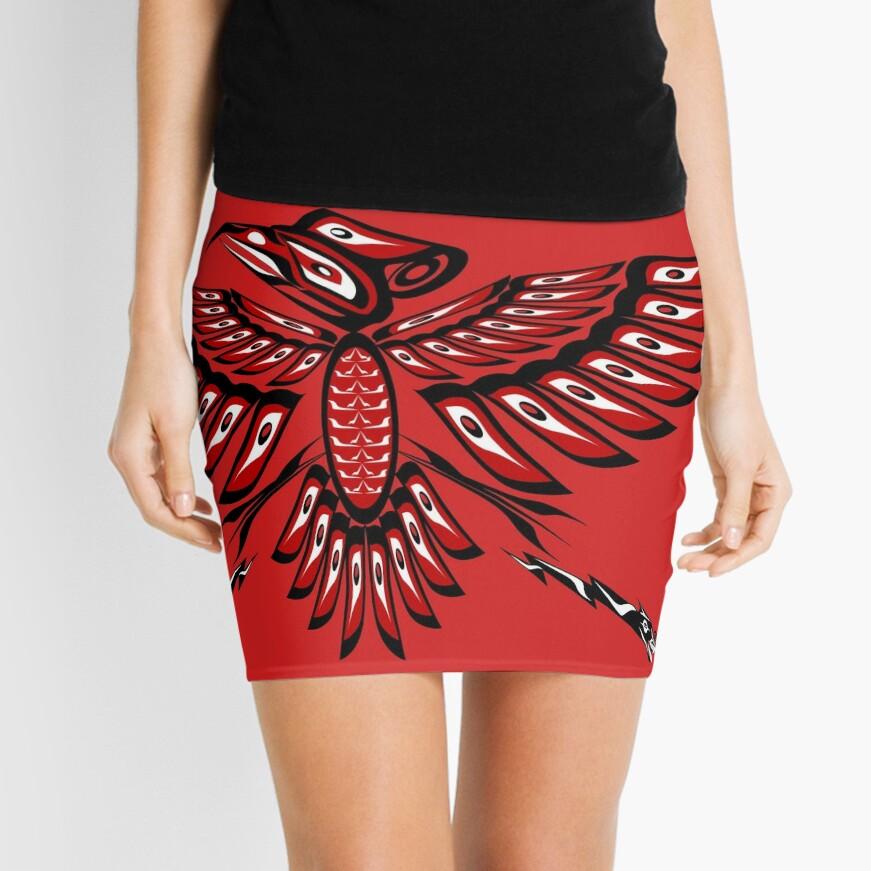 Thunderbird Mini Skirt