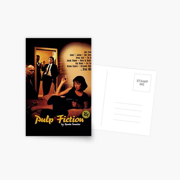 Pulp Fiction Poster Postcard