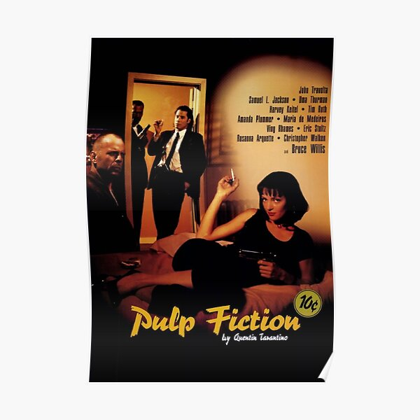 Pulp Fiction Affiche Poster