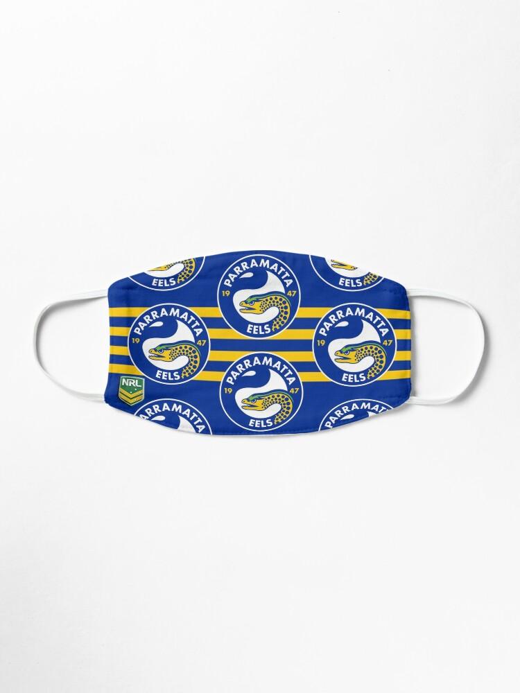 Parramatta Eels Face Mask Mask By Supradon Redbubble