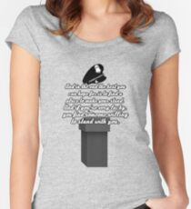 Kate Beckett stand with you Women's Fitted Scoop T-Shirt